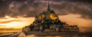 Eiland Mont-Saint-Michel