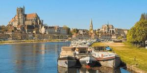 Auxerre in Bourgondië